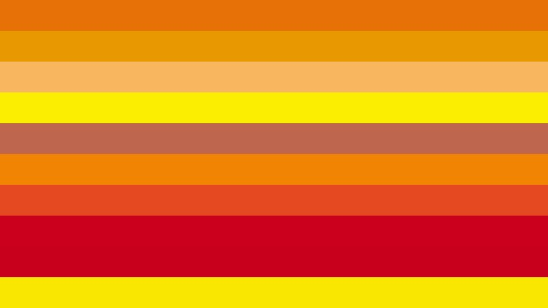 Red and Yellow Stripes Background Image