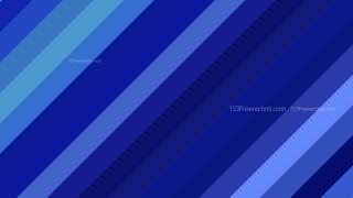 Royal Blue Diagonal Stripes Background Vector Art