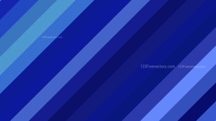 Royal Blue Diagonal Stripes Background Vector Art