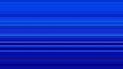 Royal Blue Horizontal Stripes Background Design