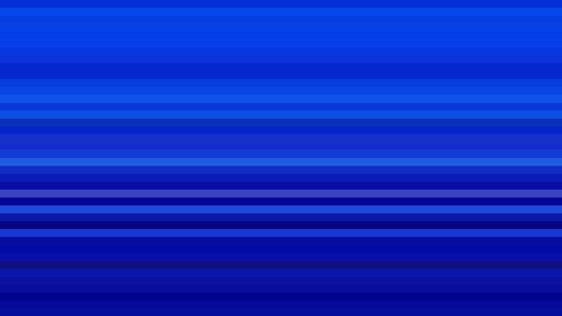 Royal Blue Horizontal Stripes Background Design