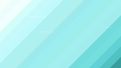 Turquoise Diagonal Stripes Background Vector Art