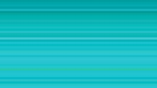 Turquoise Horizontal Stripes Background