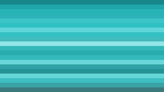 Turquoise Horizontal Striped Background Illustration