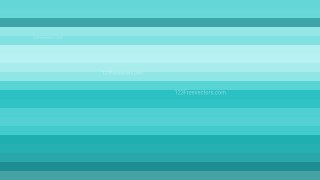 Turquoise Horizontal Striped Background Design