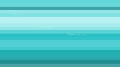 Turquoise Horizontal Striped Background Design