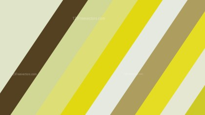 Yellow and Brown Diagonal Stripes Background Illustration
