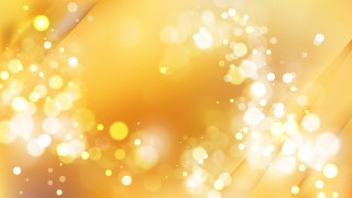 Abstract Amber Color Bokeh Background