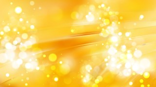 Abstract Amber Color Bokeh Lights Background