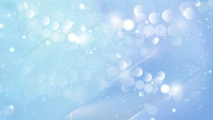 Abstract Baby Blue Bokeh Background