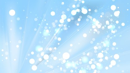 Abstract Baby Blue Lights Background