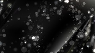 Abstract Black Defocused Lights Background Vector
