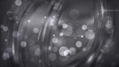 Abstract Black Blur Lights Background Image