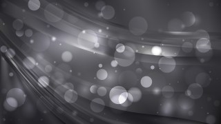 Abstract Black Blurry Lights Background Design