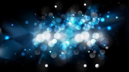 Abstract Black and Blue Lights Background