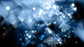 Abstract Black and Blue Lights Background Image