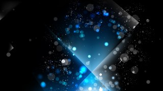 Abstract Black and Blue Blur Lights Background Image