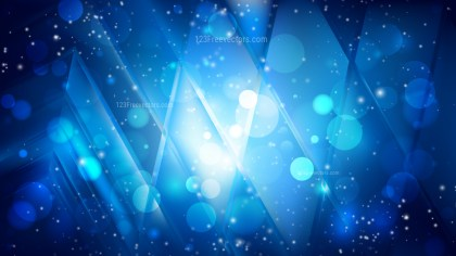 Abstract Black and Blue Blurred Lights Background