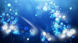 Abstract Black and Blue Blurry Lights Background Vector