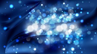 Abstract Black and Blue Bokeh Defocused Lights Background Vector