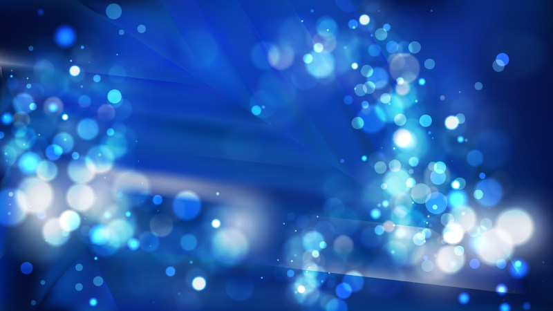 Abstract Black and Blue Lights Background Vector
