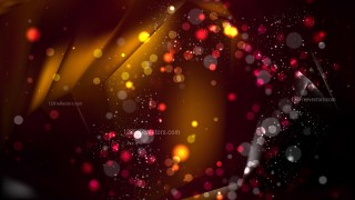Abstract Black and Brown Defocused Lights Background
