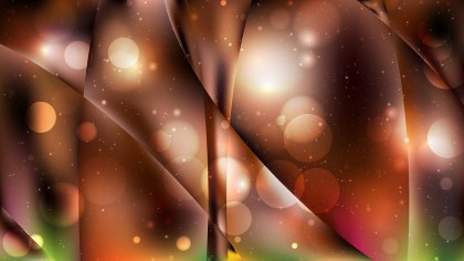 Abstract Black and Brown Bokeh Lights Background Vector