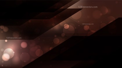 Abstract Black and Brown Blur Lights Background Vector