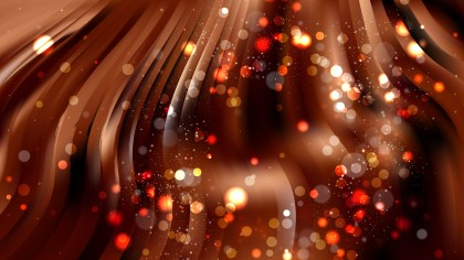 Abstract Black and Brown Bokeh Background Image