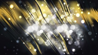 Abstract Black and Gold Lights Background Image