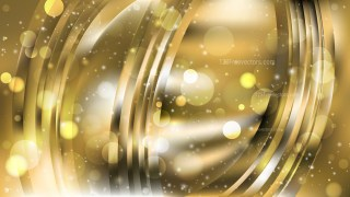 Abstract Black and Gold Bokeh Defocused Lights Background Design