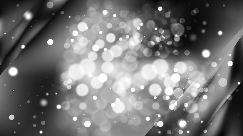 Abstract Black and Grey Blurry Lights Background Image