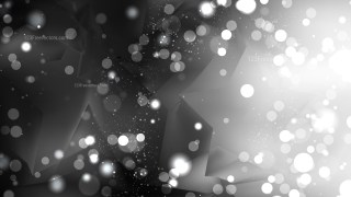 Abstract Black and Grey Bokeh Defocused Lights Background Image