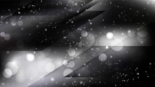 Abstract Black and Grey Blurry Lights Background Design