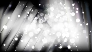 Abstract Black and Grey Blurred Lights Background Design