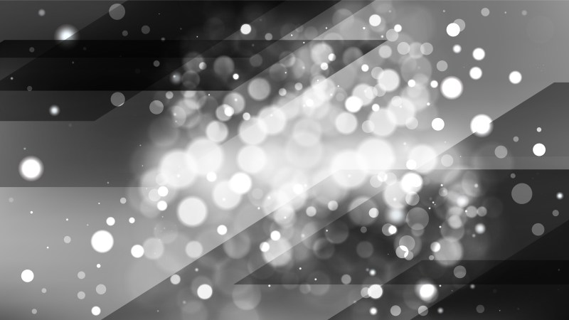 Abstract Black and Grey Blur Lights Background Design