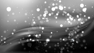 Abstract Black and Grey Defocused Lights Background Design