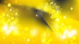 Abstract Black and Yellow Blurry Lights Background Vector