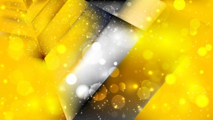 Abstract Black and Yellow Lights Background Vector