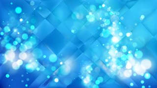 Abstract Blue Defocused Lights Background Vector