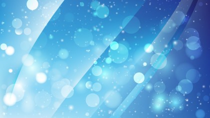 Abstract Blue Defocused Background Vector