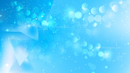 Abstract Blue Lights Background Design