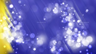 Abstract Blue and Gold Bokeh Lights Background
