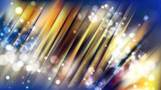 Abstract Blue and Gold Blurred Lights Background