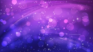 Abstract Blue and Purple Blurry Lights Background Design