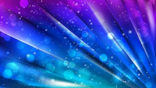 Abstract Blue and Purple Lights Background Design
