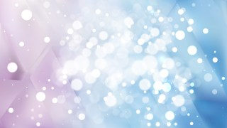Abstract Blue and Purple Bokeh Defocused Lights Background Design