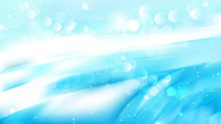 Abstract Blue and White Defocused Lights Background Image