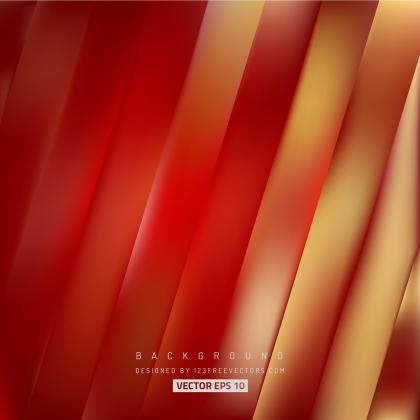 Abstract Red Yellow Stripes Background Design