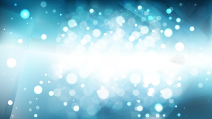 Abstract Blue and White Lights Background Vector